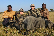 Blue Wildebeest with Kukama Hunting Safaris