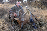 Red Hartebeest with Kukama Hunting Safaris